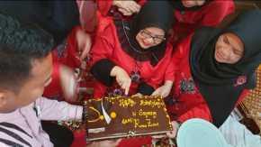 Ketua DPRD Riau Syukuran Bersama Anak Yatim