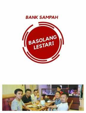 Enam Pemuda Petalangan Deklarasikan Pembentukan Bank Sampah Basolang Lestari