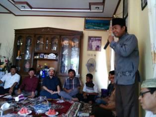Ikatan Keluarga Kecamatan Tanah Putih Rohil sekitarnya Gelar Wirid Bulanan di Rumbai