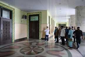 Gubri Syamsuar Ingin Masjid Raya Annur Jadi Contoh Penerapan Protokol Kesehatan Covid-19