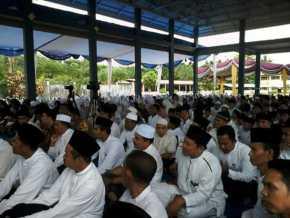 Ustadz Abdul Somad IsiTabligh Akbar HUT Info Riau di Ponpes Islamic Centre Alhidayah Kampar