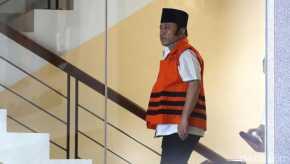 Bupati Lampung Selatan Zainudin Hasan Dituntut 15 Tahun Penjara