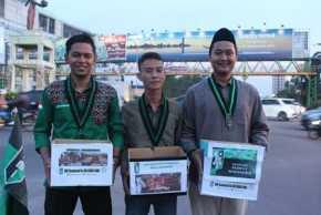Peduli Rohingya, HMI Se-lingkungan UIN Suska Pekanbaru Galang Dana