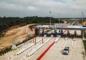 Pembangunan Tol Pekanbaru - Dumai Sudah 96 Persen