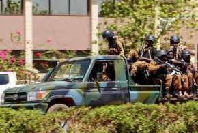 Markas Tentara dan Kedubes Prancis Diserang, Delapan Tewas