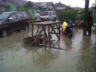 PU Kota Inventarisir 15 Titik Sentral Banjir Di Pekanbaru