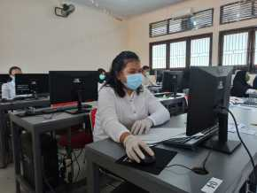 UTBK SBMPTN Terapkan Protokol Kesehatan