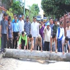 Walikota Nikmati Goro Bersama Warga Garuda Permai