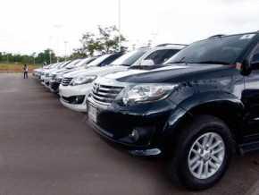 Temuan Komisi A DPRD Riau ,Saat Lebaran Belasan Mobil Dinas Pemrov Riau Direntalkan di Jakarta
