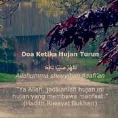 Perbanyaklah Doa Saat Turun Hujan!