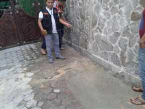 Rumah Pribadi Syafril Tamun Kadis PU Provinsi Riau Dimolotov OTK