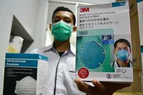 Diskes Riau Sebut Stok Masker N95 untuk Covid-19 dan Karhutla Menipis
