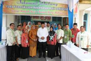 Walikota Tinjau Pemeriksaan Kesehatan JCH di Puskesmas Simpang Tiga