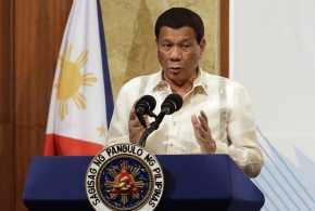 Duterte Perintahkan Tembak Mati Warga yang Langgar Lockdown
