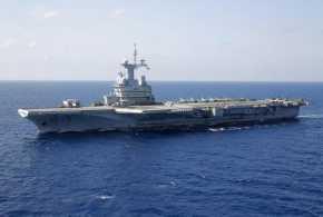 Ratusan Pelaut Prancis Terinfeksi Covid-19 di Kapal Induk