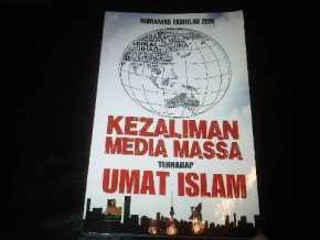 Eks Produser TVOne Luncurkan Buku Kezaliman Media Massa Thd Umat Islam