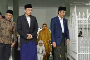 Didukung TGB, Jokowi: Beliau Rasional