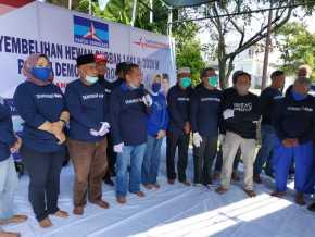 Partai Demokrat Riau Potong 6 Ekor Sapi