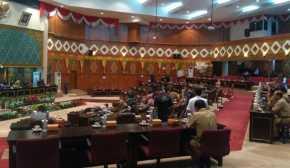 Hari Ini Paripurna DPRD Riau Penandatanganan Kesepakatan KUA PPAS APBD 2018