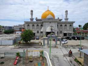 Mari Mengenal Tradisi Tarawih di Masjid Raya Pekanbaru