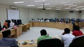 Galeri Foto Kegiatan Hearing lintas Komisi di DPRD Kampar dan Kunjungan Kerja ke Bank Nagari
