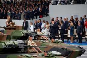 Presiden Donald Trump  Ingin AS Gelar Parade Militer Seperti Prancis
