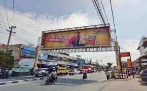 Pemko Pekanbaru Pastikan Seluruh Bando Reklame Tak Berizin