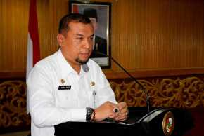 Pemko Pekanbaru Tutup Program Magang 98 Wasana Praja IPDN di Aula Walikota