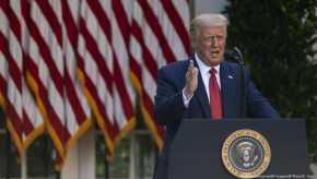 Doa Donald Trump untuk Presiden Baru AS, Joe Biden