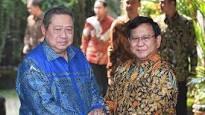 Tinggalkan Rumah SBY, Prabowo tak Banyak Berkomentar