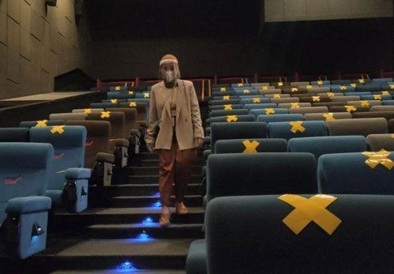 Pengelola Bioskop di Kota Pekanbaru Wajib Gunakan Aplikasi PeduliLindungi