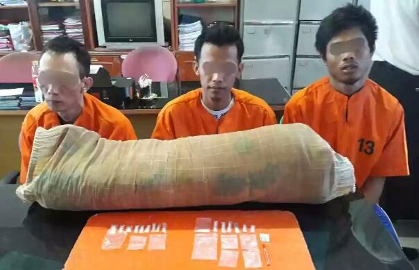 3 Orang Napi Lapas Klas II A Tembilahan Terciduk Simpan Sabu