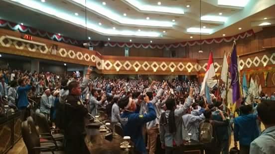 Aksi Kepung DPRD Provinsi Riau, Aliansi Mahasiswa Riau Menggugat