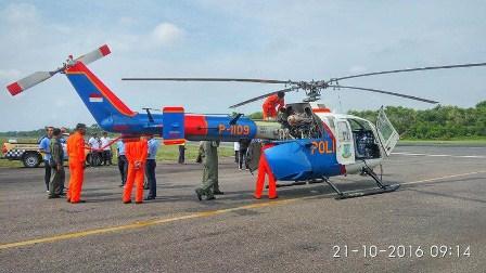 Ini Kata Polisi soal Heli yang Mendarat di Runway Bandara SSK II Pekanbaru