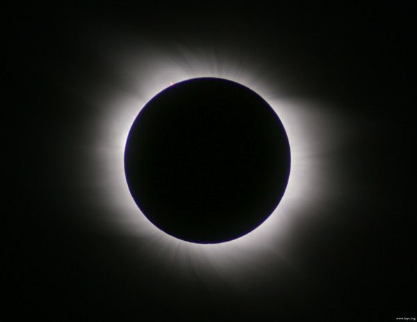 Gerhana Matahari Total pada 9 Maret 2016.