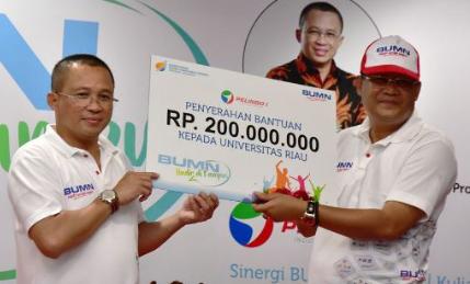 Mahasiswa Universitas Riau Sering Demo Jokowi,Rektor Terima Bantuan Pendidikan Rp400 Juta Dari BUMN