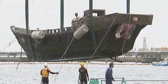 Puluhan kapal misterius terdampar di Jepang, isinya mayat