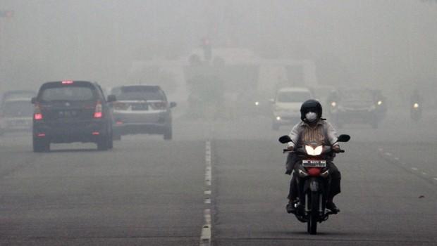 Usai Siswa SD, Kini PNS Meninggal Akibat Kabut Asap di Riau