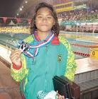 Azzahra, Perenang Asal Pekanbaru Bertolak ke Olimpiade Tokyo