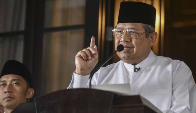 Hadiri Kampanye Akbar Firdaus-Rusli, SBY  Menginap di Pekanbaru