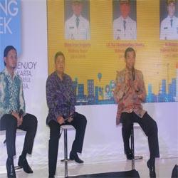 Walikota Jadi Narasumber bersama Wako Denpasar dan Bogor