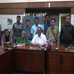 Miris, 9 Kepala Desa Terisolir di Kampar Mengadu Pada Komisi C DPRD Riau