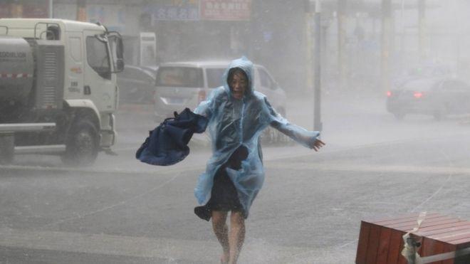 Topan Mangkhut Terjang China Selatan, Lebih dari 2 Juta Warga Dievakuasi