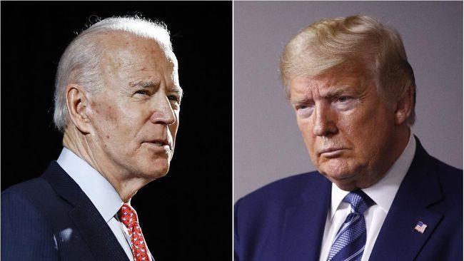 Sindir Trump, Biden Sebut Soal Masker dan Pria Tangguh