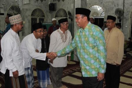 Walikota Pekanbaru Halal Bi Halal Di Mesjid An Najah