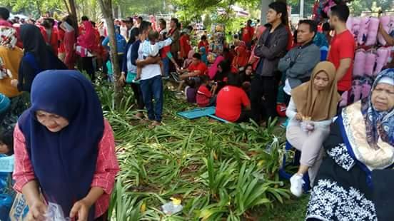 BCC Alfamart Sebut Hanya Sedikit Taman Kota Pekanbaru yang Rusak
