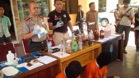 Riau Darurat Narkoba, Sekarang Penjahat Sudah Berani Bikin Pabrik Shabu di Pekanbaru