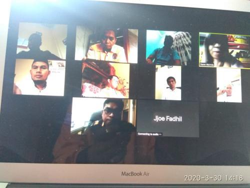 KPU Riau Gelar Rapat Khusus dengan KPU Kabupaten/kota se-Riau