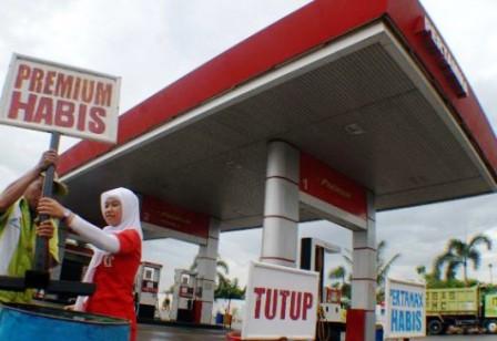 Disperindag Dinilai Lemah, BBM Premium Di Bengkalis Capai Rp.10.000/Liter