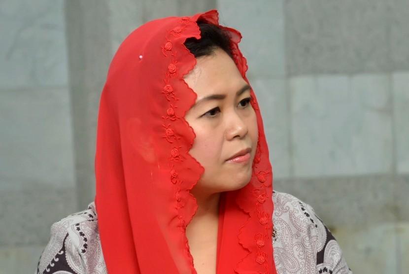 Putri Gus Dur: NU tak Boleh Berpolitik Praktis